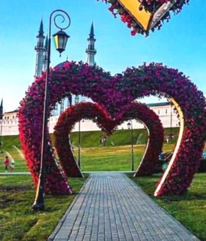 В старом парке Казани с утра ищут сокровища